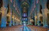 Notre Dame Cathedral appeals for additional funding as work begins to restore the church's interior