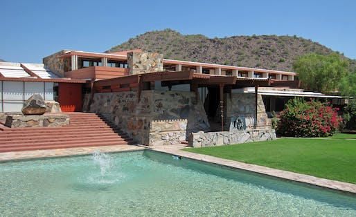 The Frank Lloyd Wright Foundation has all but guaranteed the closure of the School of Architecture at Taliesin. Image courtesy of Wikimedia Commons / InSapphoWeTrust.