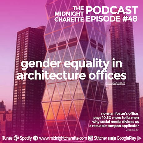 What do you think of the gender pay gap in architecture? Podcast Ep #48
