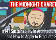 #141 - Sustainability and How to Apply to Graduate School