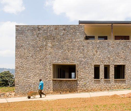 Butaro Hospital, completed in 2011 in Ruhengeri, Rwanda (Photo: MASS Design Group)