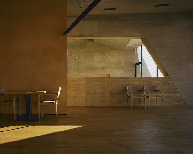 1F - Restaurant with Otsu Wall