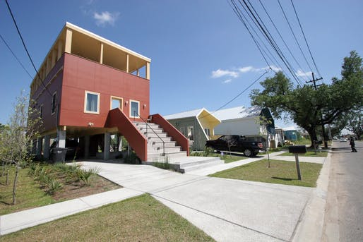 Make it Right Foundation homes in New Orleans' Ninth Ward. Photo: joevare/Flickr (CC BY-NC-ND 2.0)