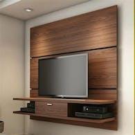 Sagmented Wood Wall