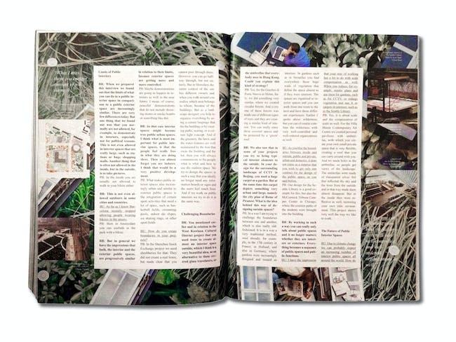 'Into the Wild - Conversation with Petra Blaisse' by Beatriz Ramo and Bernd Upmeyer, photo by Claudia Mainardi