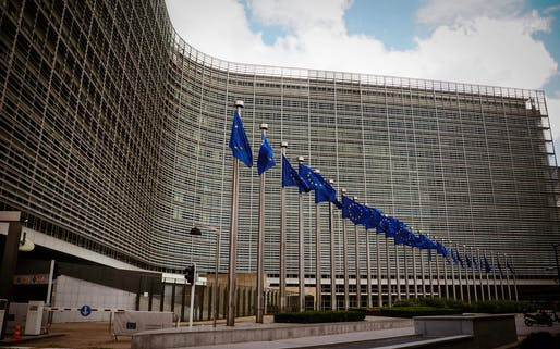 The European Union headquarters in Brussels. Image courtesy of Pexels / Ovid Burke.