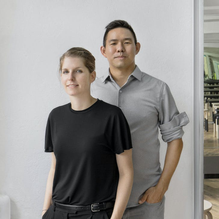 Nicole McIntosh and Jonathan Louie of Architecture Office. Photograph by Caylon Hackwith