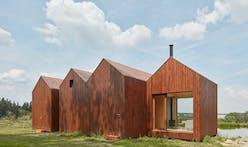 Atelier 111 Architekti creates a modern reinterpretation of the traditional Czech fisherman cottage