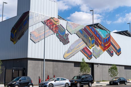 Our large scale public artwork for LA Metro is finally finished!