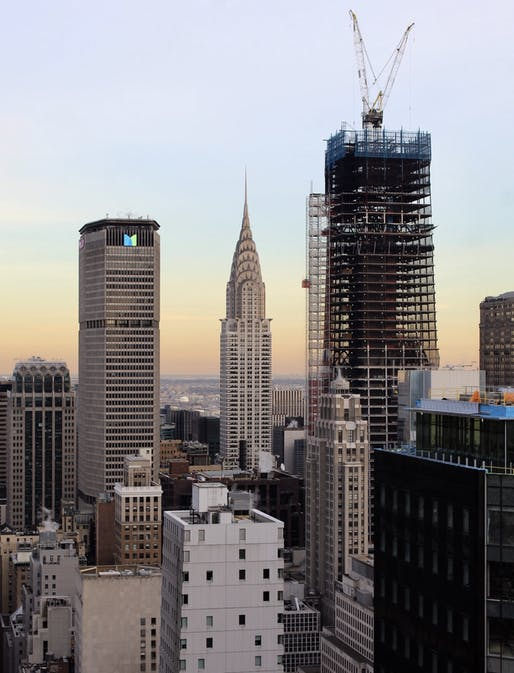 "Construction status of One Vanderbilt in January 2019. Photo: Michael Young, image via <a href=""https://newyorkyimby.com/2019/02/one-vanderbilt-reaches-supertall-territory-above-midtown-east-manhattan.html"">newyorkyimby.com</a>"
