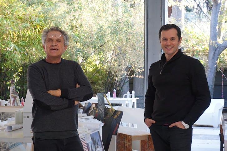 Michael B. Lehrer and Nerin Kadribegovic in their studio