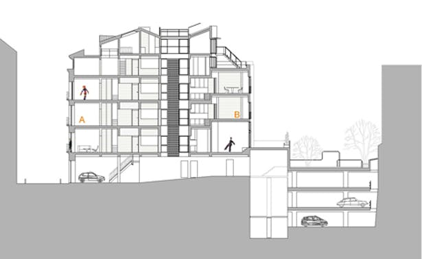 Rehabilitación de edificio en Madrid
