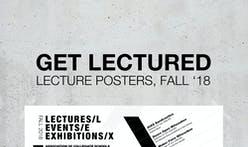 The most popular Fall '18 architecture school lecture poster is...