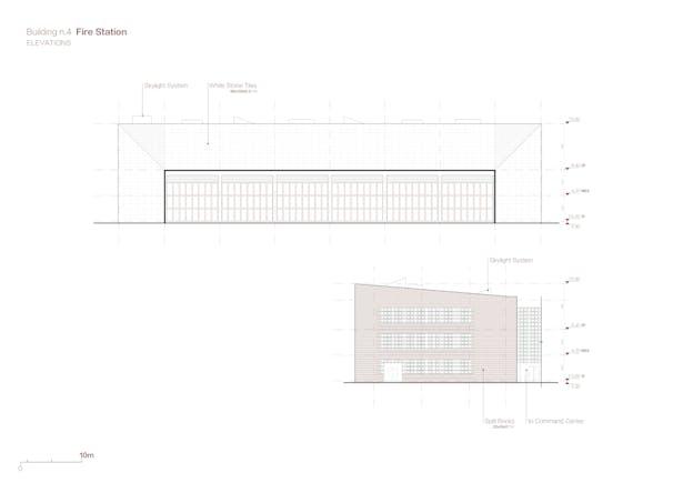 Fire Station Elevations Credits: West-line Studio