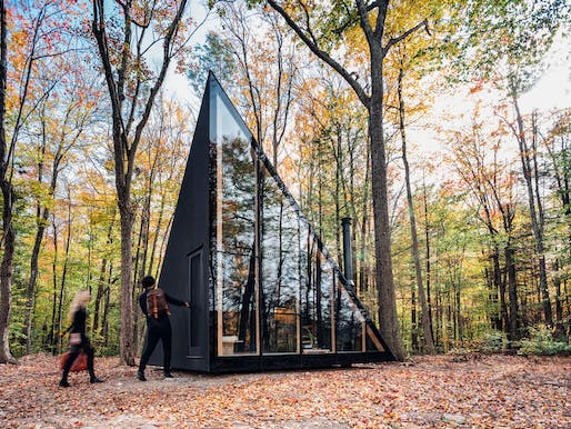 Klein A45, Catskill Mountains, New York | BIG-Bjarke Ingels Group. Photo: Matthew Carbone.