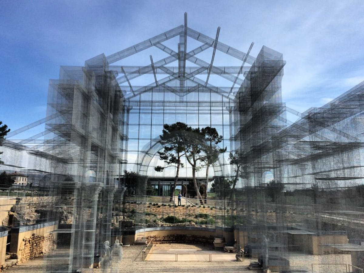 Ancient Italian church comes back to life – built in wire mesh ...