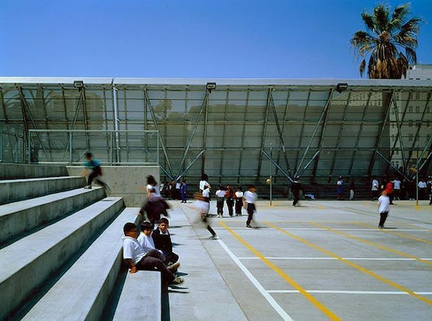 International Elementary School with Thomas Blurock/Morphosis. Long Beach, CA.