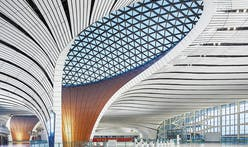 "Zaha Hadid Architects' ""starfish""-shaped Beijing Daxing International Airport is inaugurated"
