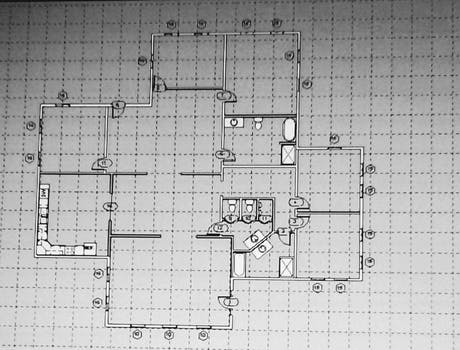 One Story home plan