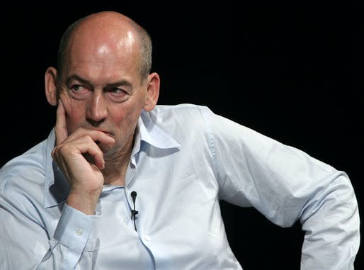 Portrait of Rem Koolhaas, via wikipedia.com