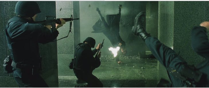 'The Matrix' (1999).