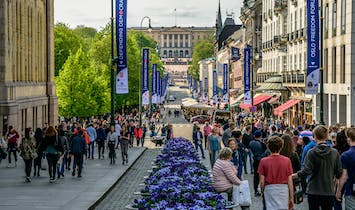 Oslo's city center goes (almost) car-free