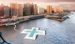 The long-awaited Plus Pool officially has a home in the East River