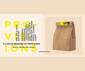 The Site Magazine: A Live Co-Reading of Provisions - Privacy, Surveillance, Security