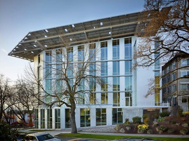 The Bullitt Center, a Net Zero Energy and Net Zero Water office space, just opened in Seattle