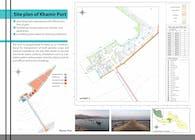 Site plan of Khamir Port