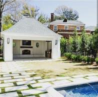 Elegant Pool House