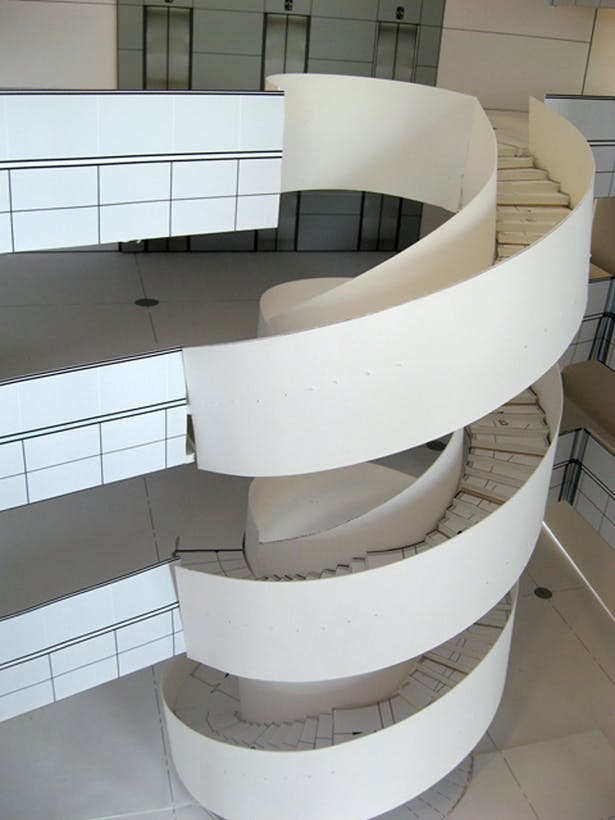 Complex Staircase Model-High School
