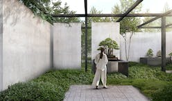 The National Bonsai and Penjing Museum blurs the boundaries between landscape and architecture