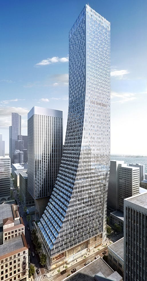 Rendering of Rainier Square Tower.