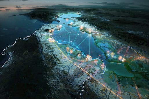 Resilient by Design by MVRDV as part of the part of the HASSELL+ team. Image: MVRDV.