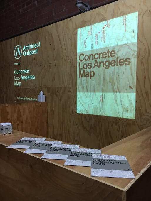 Concrete Los Angeles Maps event at Archinect Outpost