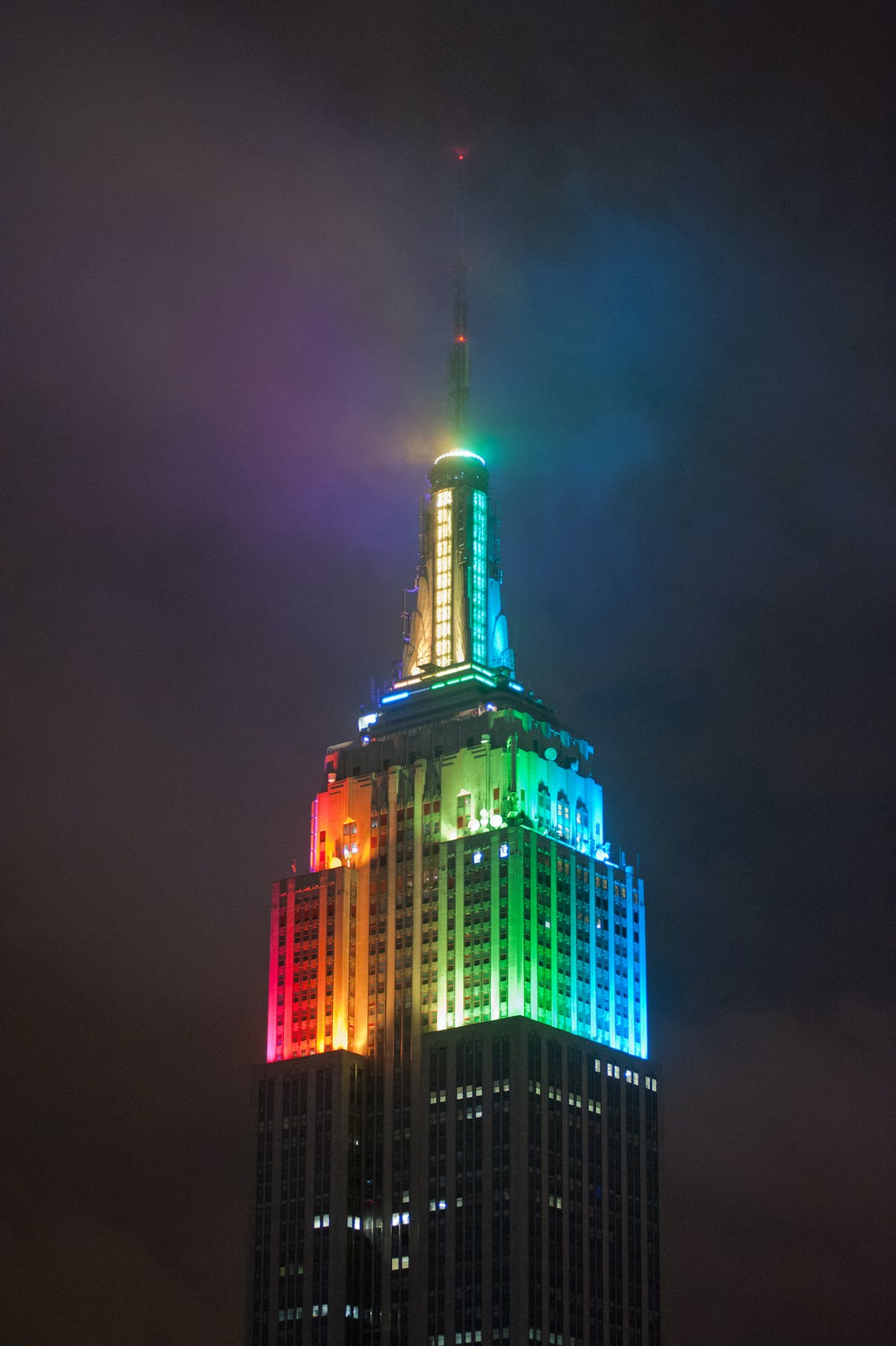 Empire State Building Tower Lighting Replacement The