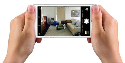 A screengrab from Modsy, an app that helps you imagine what your apartment might look like with new furniture. Credit: Modsy
