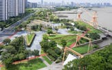 Docklands Park, Yangtze River, Jiangyin