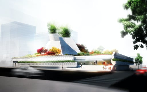 Morphosis has unveiled designs for the new Korean American National Museum in Los Angeles. Image courtesy of Morphosis.