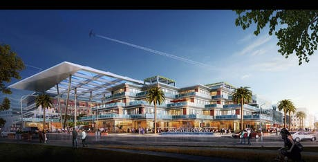 New Commercial Center - Guilin China