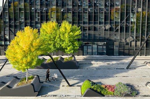 Vilnius Plaza by Martha Schwartz Partners.