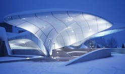 Zaha Hadid's Nordpark Cable Railway stations turn ten