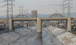 One of the iconic arches of the old Sixth Street Bridge in LA will be preserved