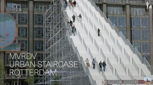 "Screenshot of ""The Stairs"" from #donotsettle's YouTube video."