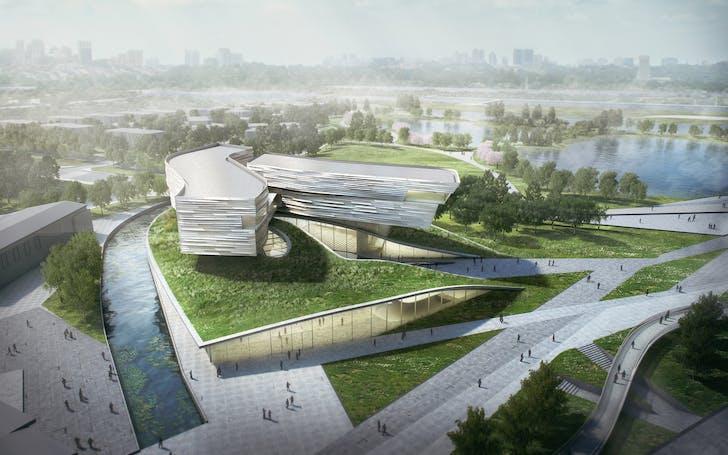 Wuzhong Museum. Image by Studio Link-Arc, LLC