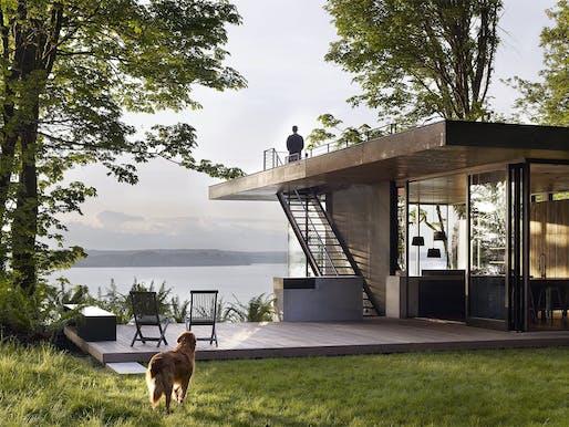 Case Inlet Retreat by mwworks architecture + design. Photo: Jeremy Bittermann.