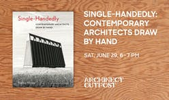 Archinect Outpost and A+D Museum to host book launch for Single-Handedly