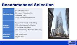 Kohn Pedersen Fox selected to design 5 World Trade Center