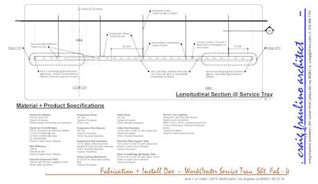 Medill Place, Digital Fabrication Details + Materials ~